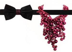 DH fashion-David Hojnik-bow & necklace