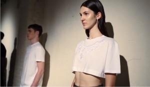 Slovenski model Prisha Justinek predstavlja DI MORABITO SS15- di morabito spring summer 2015-kolekcija