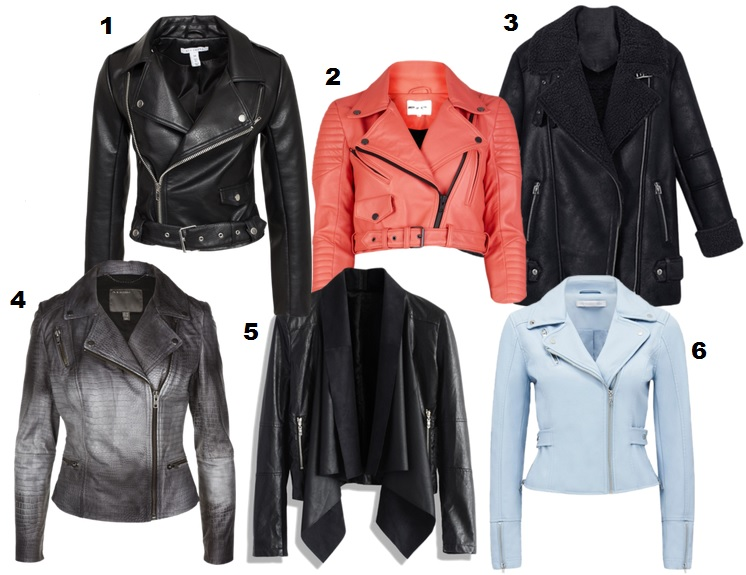 usnjena jakna - modni trend - trendi usnjene jakne