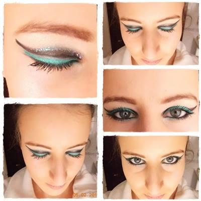 Malo bolj drzen makeup mačjih oči
