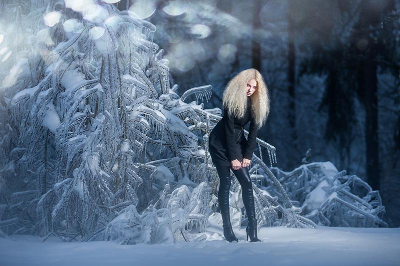 Barbara Sorčič v ledeni pravljici