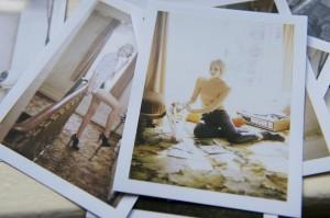 model book-polaroids